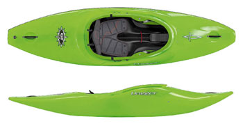 Lime Dagger GT Action Spec kayak from Manchester Canoes