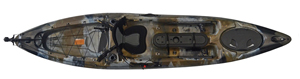 Camo colour in the enigma Kayaks Fishing Pro 12