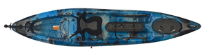 Galaxy colour in the enigma Kayaks Fishing Pro 12