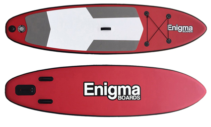 Enigma 10ft iSUP Inflatable Stand Up Paddle Board - Package Deals