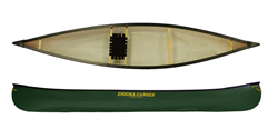 Enigma Canoes RTI 13 canoe in green