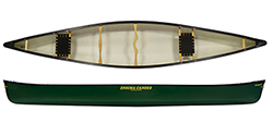 Enigma Canoes Turing 16 canoe in green