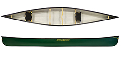 Enigma Canoes Turing 17 canoe in green