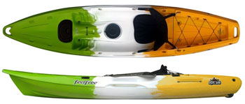 Juntos sit on top kayak from Feelfree