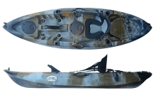 Camo colour in the Fun Kayaks Flow