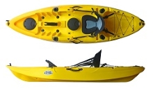 Yellow colour in the Fun Kayaks Cruise Angler