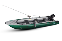 Gumotex Alfonso - Top of the range inflatable fishing boat