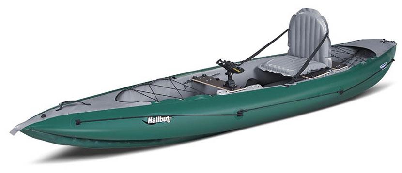 Gumotex halibut inflatable kayakas canoes for Fishing kayak brands