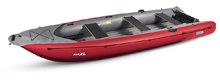 Gumotex Ruby inflatable canoe with 3 seats