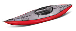 Gumotext Swing 1 inflatable kayak in red