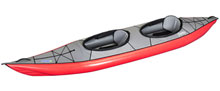 Gumotext Swing 2 inflatable kayak in red