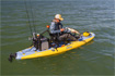 Kayak fishing on the Hobie i11s inflatable kayak