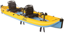 Hobie i14t tandem inflatable kayak