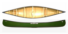 Nova Craft Prospector 16 Tuffstuff Expedition canoe