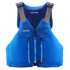 NRS Clearwater PFDs for Touring and Sit On Top Paddling