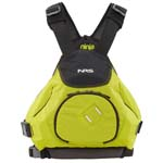 NRS Ninja PFDs for freestyle and WW paddling