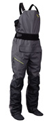 2inch wide wishbone style suspenders feature on the NRS Sidewinder Bib Dry Pants