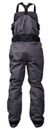 Reinforced seat area on the NRS Sidewinder Bib Dry Pants