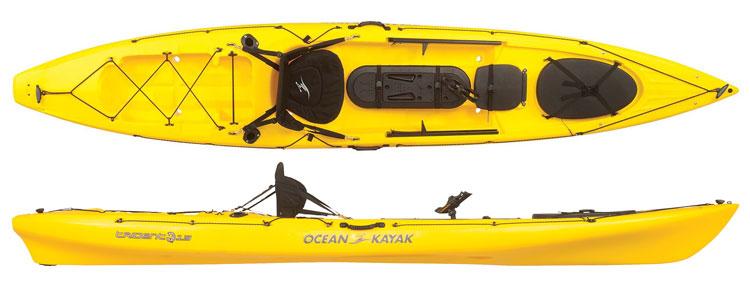 Ocean kayak trident 13 angler fishing canoes for Fishing kayak brands