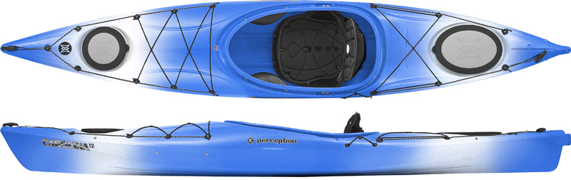 Perception Vista - Open Cockpit Kayaks for Touring