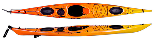 Brittany 16.5 sea kayak from Riot