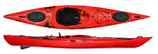 Riot Enduro 13 touring kayak with skeg