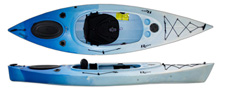 Riot Quest 10 HV recreational touring kayak