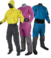 Dry Suits for canoeing and kayaking