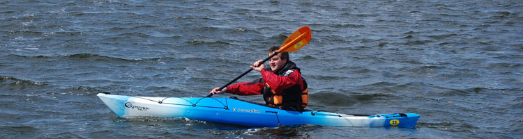 Recreational touring kayaks for sale at Manchester Canoes