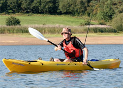 Sit On Top Kayaking with a Perception Triumph 13