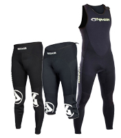 Wetsuits and Neoprene Shorts