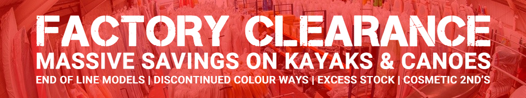 Manchester Canoes Factory Clearance Sale