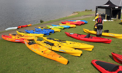 Watersports Centre Kit at Manchester Canoes