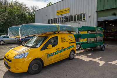 Trade Fleet of Enigma Canoes Supplied by Manchester Canoes