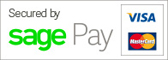 We use a secure payment system provided by SagePay