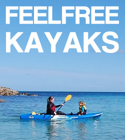 Feelfree Kayaks at Manchester Canoes